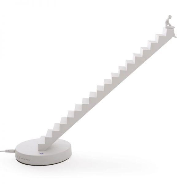 lampada verso bianca