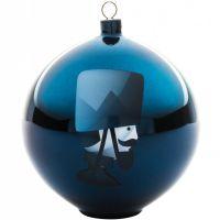 Palla albero di natale soldato blue christmas