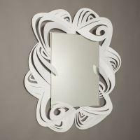 specchio penelope bianco