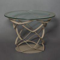 tavolo origami tondo beige