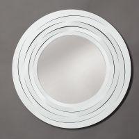 specchio origami bianco