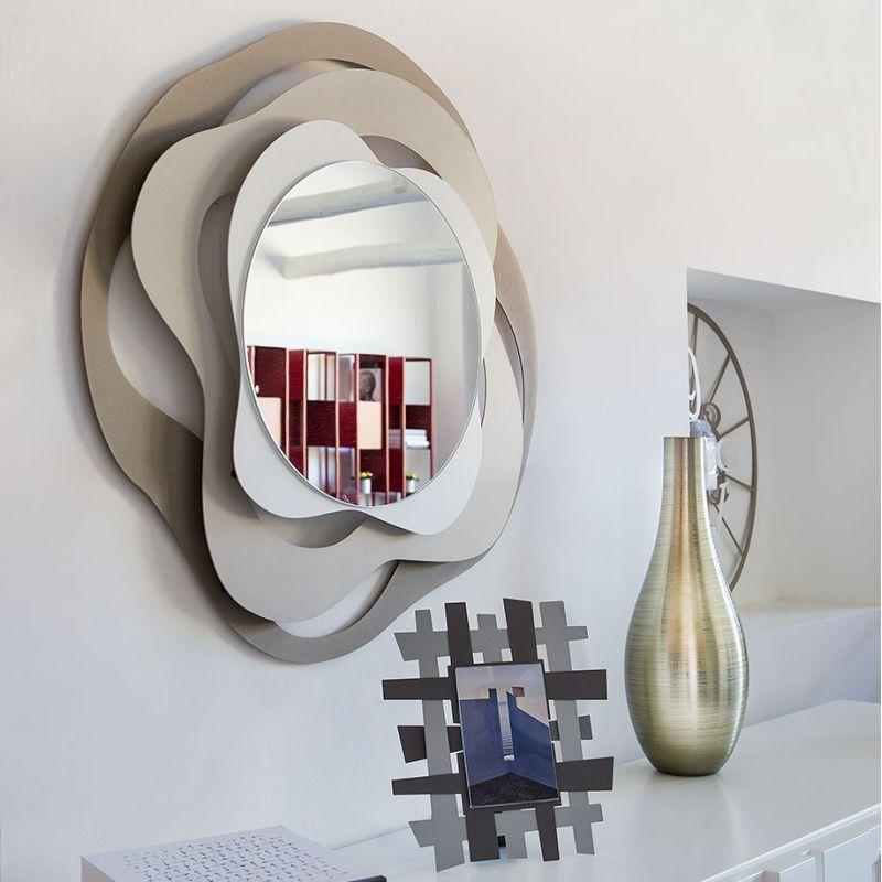 Specchio isotta beige arti e mestieri domustore luxury store - Specchio arti e mestieri ...