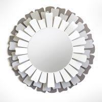 specchio lux alluminio