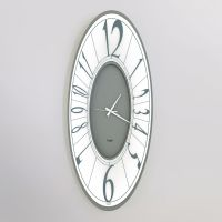 orologio ring ovale grigio