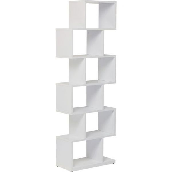 libreria brooklyn bianca zick zack 150x60cm
