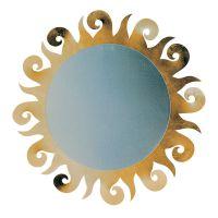 specchio sole oro