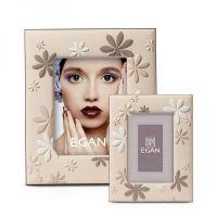 Cornice portafoto con vetro 33 cm fiori bijoux