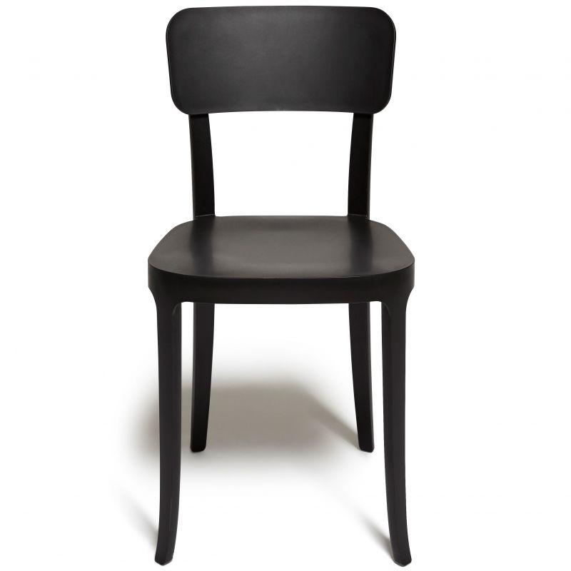 Coppia di sedie nere K. Chair qeeboo | DomuStore, Luxury Store