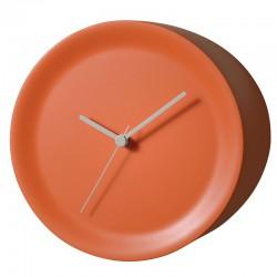 Orologio spigolo arancio Ora Out