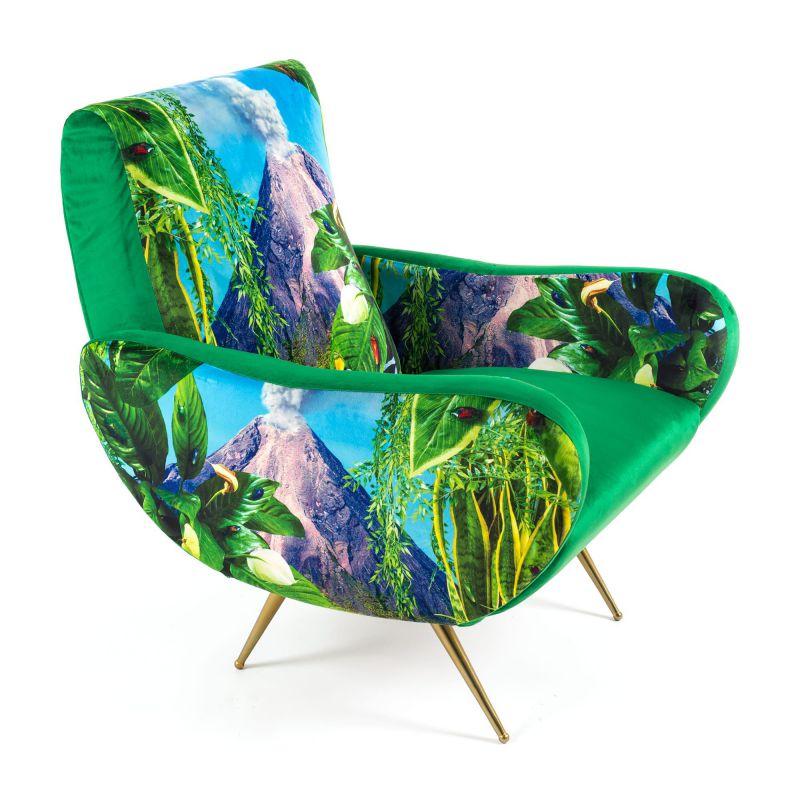 Poltrona vulcano armchair toiletpaper