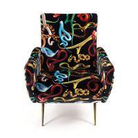 Poltrona serpenti armchair toiletpaper