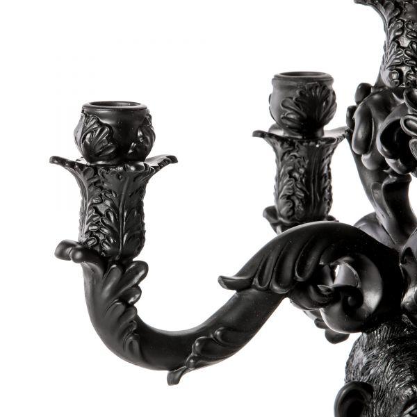 Candeliere nero scimmia Burlesque