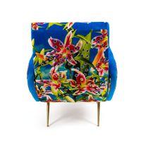 Poltrona fiori armchair toiletpaper