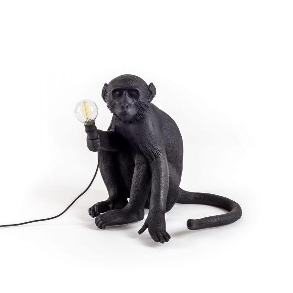 Lampada da esterno nera monkey lamp
