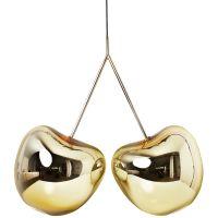 Lampadario oro Cherry lamp