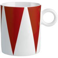 tazza mug triangoli circus