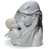 statuina maternità, dolce carezza