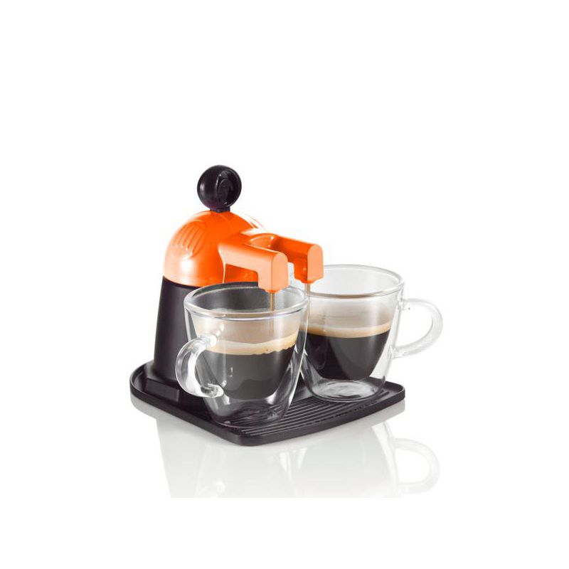 caffettiera arancio 2 tazze melita express