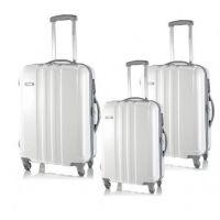 set tre valigie bianche