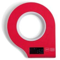 bilancia  digitale rossa frisbee