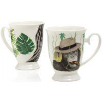 set due tazze mug savana