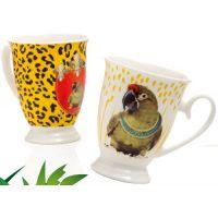 set due tazze mug giungla