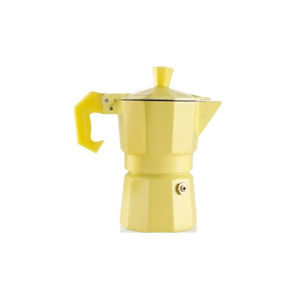 caffettiera 1 tazza gialla aromatic express