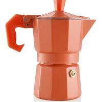 caffettiera 1 tazza arancio aromatic express