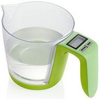 bilancia elettronica solidi e liquidi verde