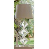 lampada in cristallo 76cm vanessa