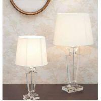 lampada in cristallo bianca 70cm Morgane