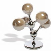 lampada tavolo 65cm tortora