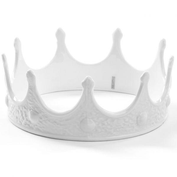 Corona in porcellana bianca My Crown Memorabilia