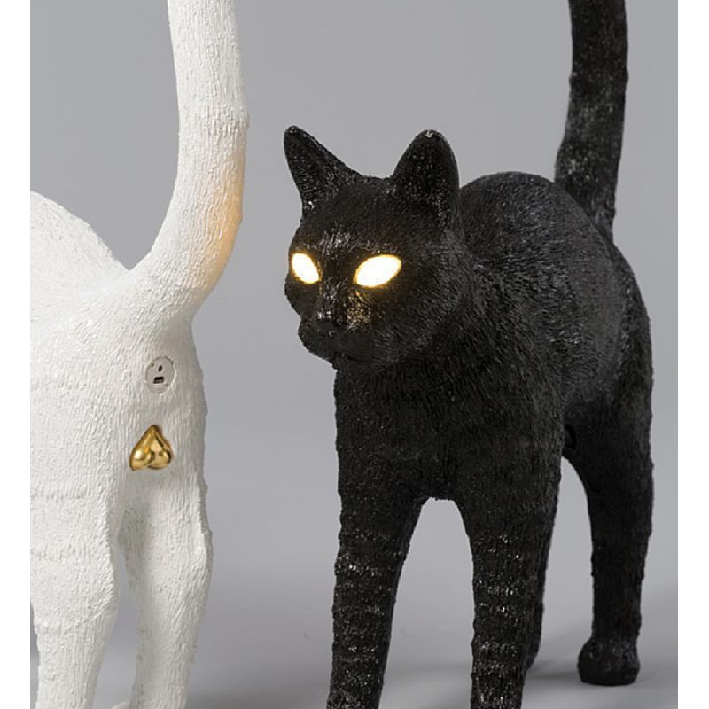 Lampada gatto bianco Jobby the cat lamp