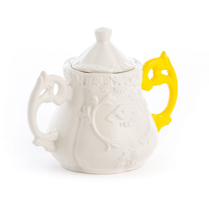 Servizio da tè 14pz manico giallo i-wares