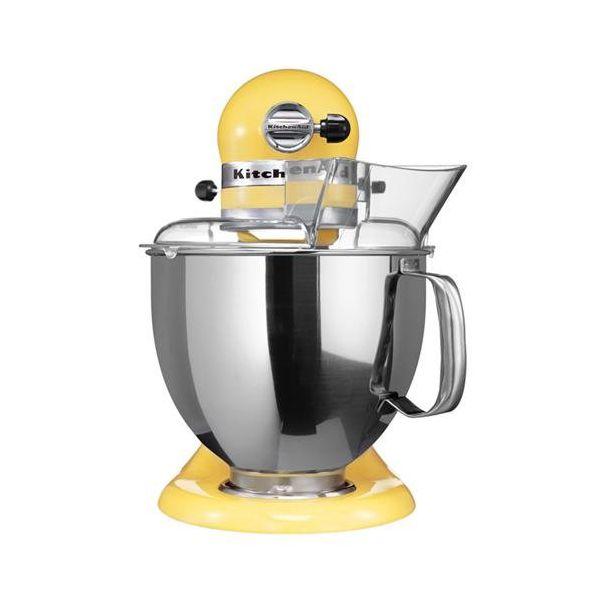 robot impastatrice planetaria gialla 4.8L Artisan