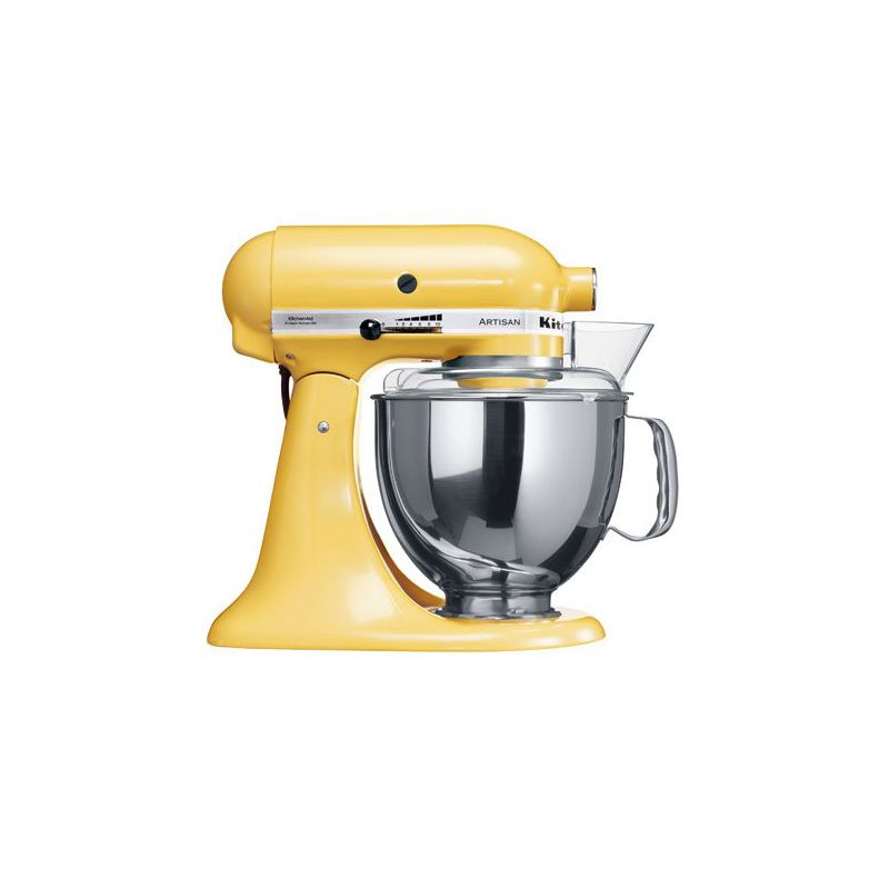 Robot impastatrice planetaria gialla 4.8L Artisan kitchenaid ...