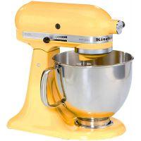 impastatrice giallo artisan kitchen aid