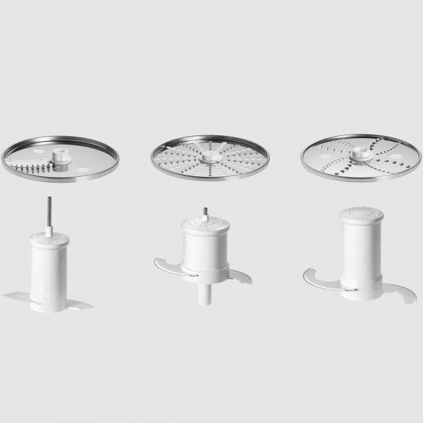 Robot da cucina food processor silver artisan