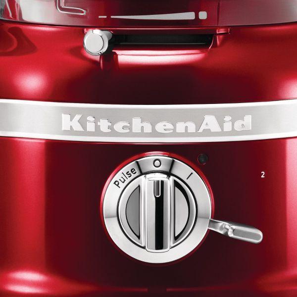Robot da cucina food processor rosso metallizzato artisan