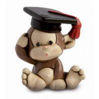 Bomboniera scimmia con tocco