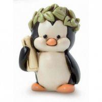 pinguino laurea con corona