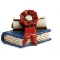 Bomboniera libro con pergamena