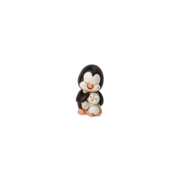 Bomboniera pinguino madre con piccolo
