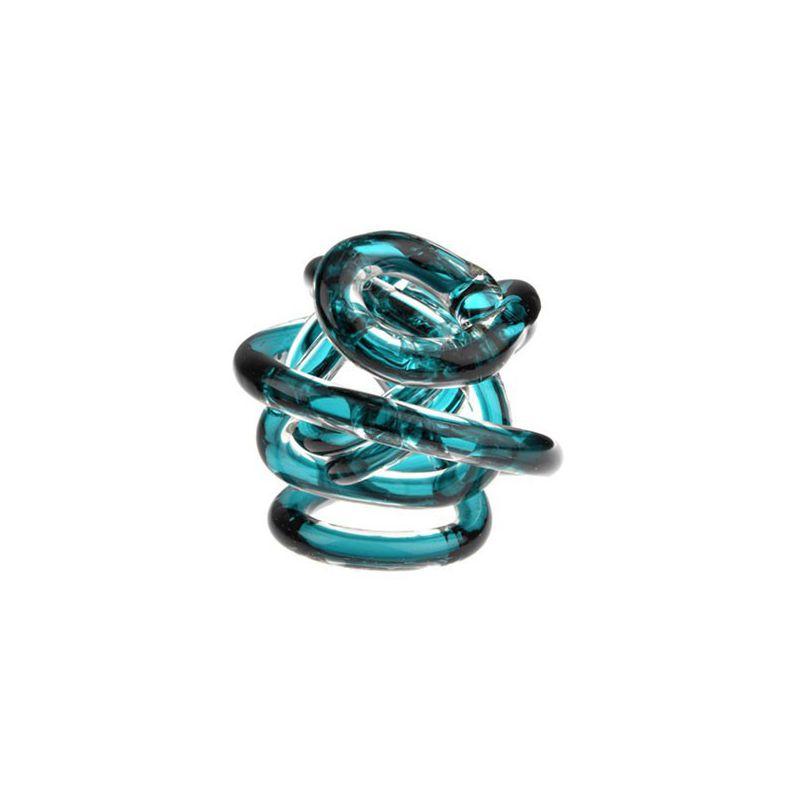 Bomboniera il nodo dell' amore 8 cm azzurro