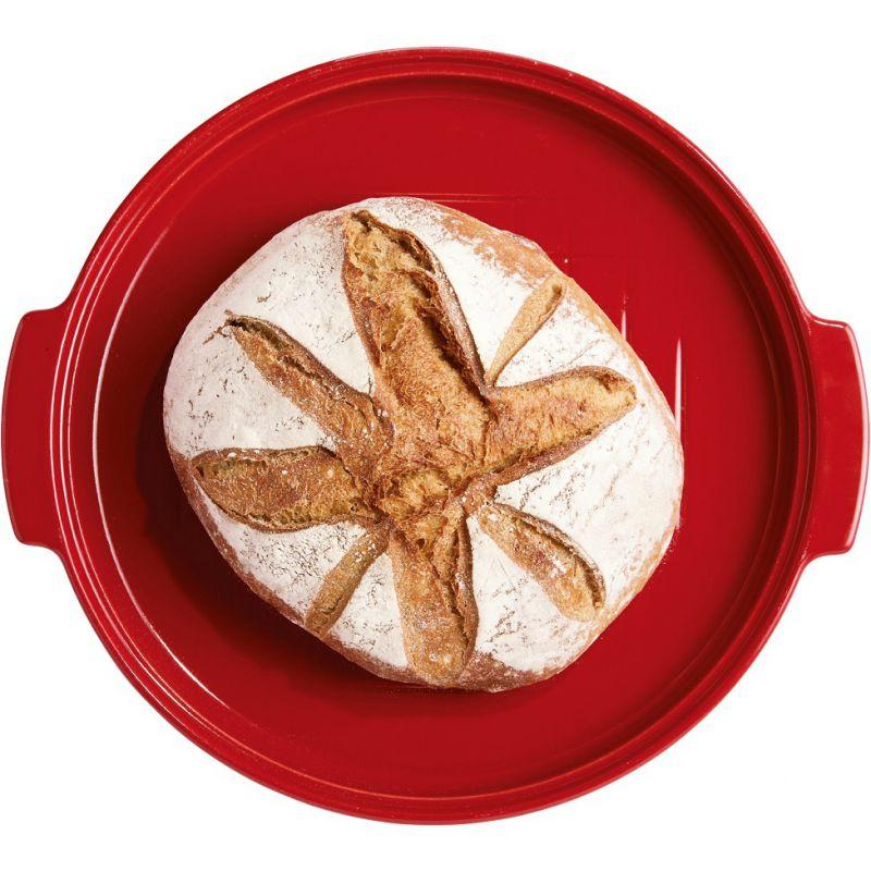 Cloche pane rossa