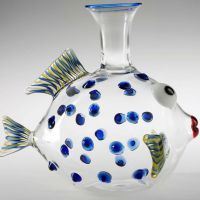 decanter pesce pappagallo
