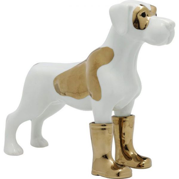 figura decorativa cane rubberboot 21cm
