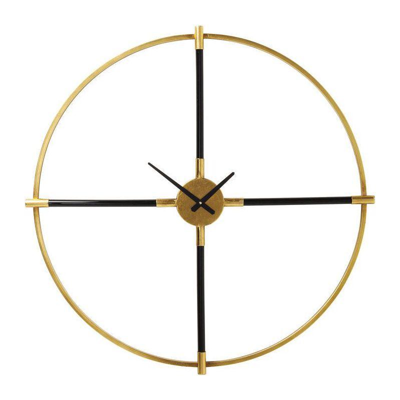 Orologio da parete magic wand 91cm kare design domustore luxury store - Orologio design parete ...