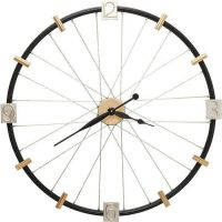 orologio da parete spoke wheel 80cm
